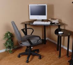 Corner Computer Desk Ideas Furniture Minimalist Black High Gloss Small Corner Computer Desk