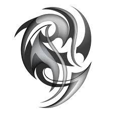 black tattoos ornaments design vector set 13 vector ornament free