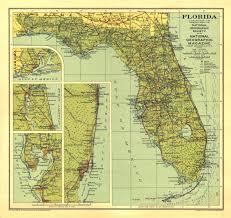 florida map national geographic 1930 florida map maps