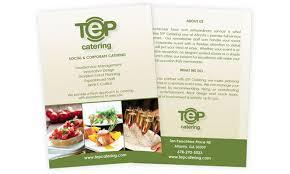 Catering Calling Card Design Menu Design Business Card Design Brochure Design