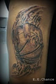 basketball tattoo by eechance on deviantart