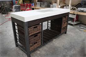 Concrete Bathroom Vanity by Work Shop Denver Vanities Work Shop Denver