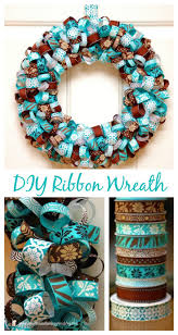 best 25 ribbon wreath tutorial ideas on fall ribbon