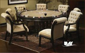 Custom Built Dining Room Tables by Brookdale Custom Contemporary Poker Dining Game Table U0026 Chairs