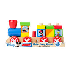 Mickey Mouse Table And Chairs by Mickey Mouse U0026 Friends Wooden Stacking Train From Melissa U0026 Doug