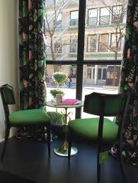 American Drapery Renton Kate Spade Pop Up Home Store In Nyc With Owl Print Curtains In