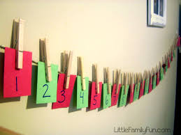 little family fun christmas craft countdown christmas