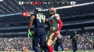 seahawks thanksgiving game madden 18 san francisco 49ers vs seattle seahawks youtube