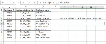 excel countif function u2013 how to use