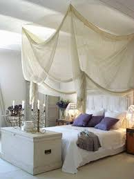 Diy Canopy Bed Canopy Bed White Bed