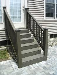 trex steps trex steps on paver patio patio deck ideas