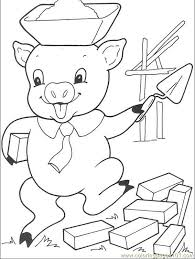 pigs 008 4 coloring free coloring