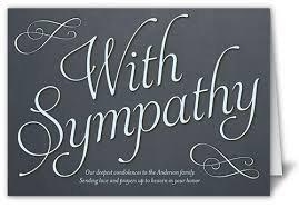heartfelt sympathy 5x7 folded card by designs shutterfly