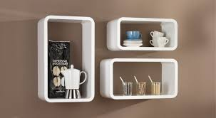 White Cube Bookcase by Cube Shelves Many Finishes Syles Regalraum Com