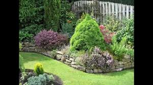 Raised Rock Garden by Garden Ideas Rock Garden Border Ideas Youtube
