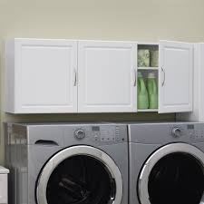 wall mounted storage cabinet in laundry room organizers