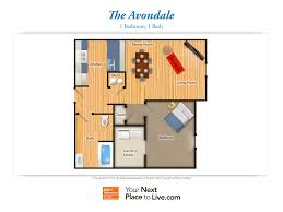 roosevelt floor plan riverside landing at delaware place senior living community in