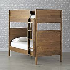 Special Bunk Beds Wood Bunk Beds Crate And Barrel
