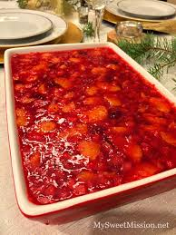 cranberry gelatin salad my sweet mission