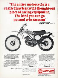 win a motocross bike motocross action magazine flashback friday can am mx 2
