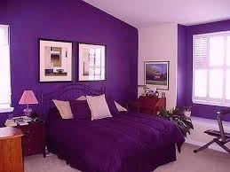 light purple accent wall purple colored bedroom bedroom with purple accent wall and sand