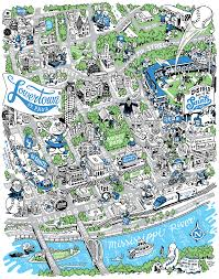 St Paul Campus Map Welcome To St Paul U0027s Lowertown Neighborhood Startribune Com