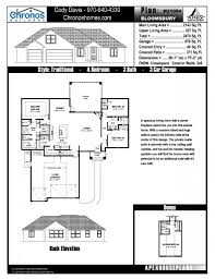 floor plans chronos builders
