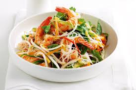 vietnamese prawn u0026 rice noodle salad