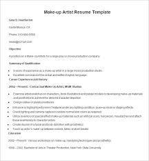 Art Resume Sample by Resume Templates U2013 127 Free Samples Examples U0026 Format Download