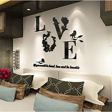 mirror decals home decor hot 3d mirror wall stickers quote flower vase acrylic decal home