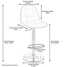home design dimensions home design engaging bar stool measurements for height rochelle