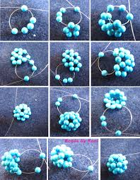 ball bead necklace images Beaded ball tutorial beads by roni jpg