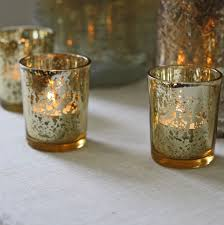 mercury tea light holders votive candle holders bulk gold mercury candle containers for