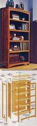 Woodworking Plans Free Standing Shelves by Best 25 Bookcase Plans Ideas On Pinterest Build A Bookcase