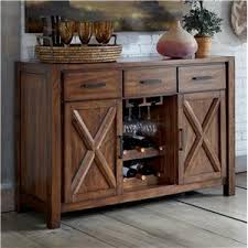 Dining Room Table With Wine Rack by Signature Design By Ashley Waurika Dining Room Server With Wine