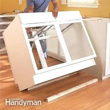 how to install kitchen island how to install lower kitchen cabinets how to install a kitchen