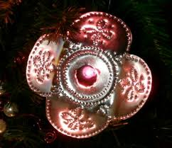 how to make punched tin light shields gingerbread snowflakes