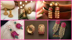 types of earrings for women new unique earring designs for women different types of