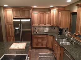 Kitchens With Hickory Cabinets Kraftmaid Hickory Sunset Marquette Cabinetry Kitchens U0026 Baths