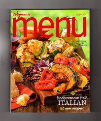 wegmans menu magazine fall 2014 cuisine cookbook recipes