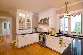 Love The Leaded Glass Cabinet Doors - Leaded glass kitchen cabinets