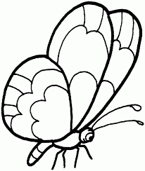 87 easy butterfly coloring page learn how to draw and paint