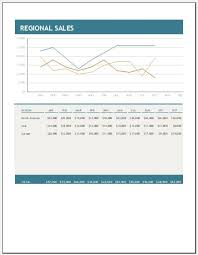regional sales report template ms excel excel templates