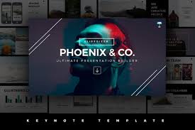keynote themes compatible with powerpoint phoenix minimal keynote template presentation templates creative