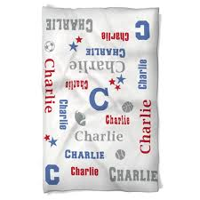 personalized name dog blanket personalized name for your sport swirled peas