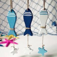wholesale mediterranean starfish hung wood fish nautical decor