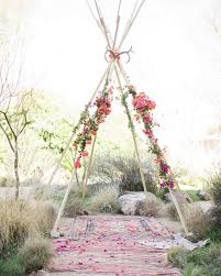 wedding arch backdrop white wedding teepee with pink and flowers this teepee