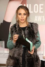 topshop heiress chloe green launches shoe collection in liverpool
