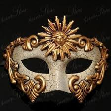 marti gras masks venetian masquerade mardi gras mask vintage design for men gold
