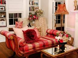 red and white living room decorating ideas accent wall for living
